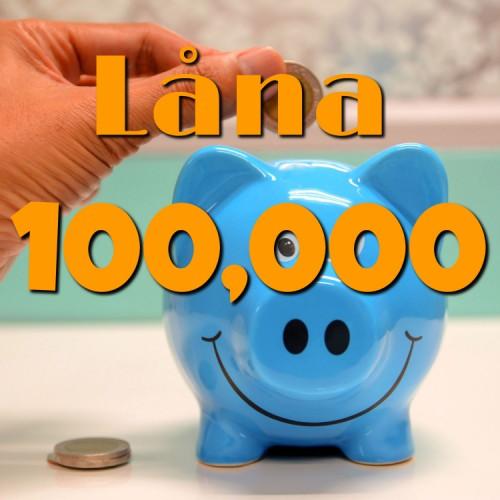 låna 100000