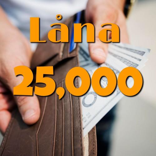 låna 25000