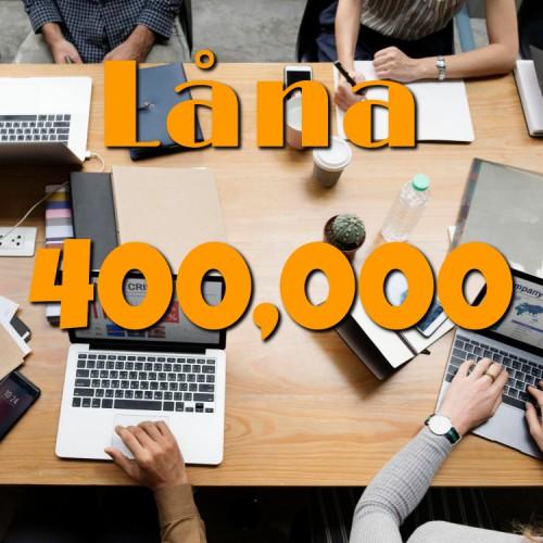 låna 400000